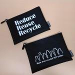 RPET-1-012   Recycled PET Zipper Bag (M)