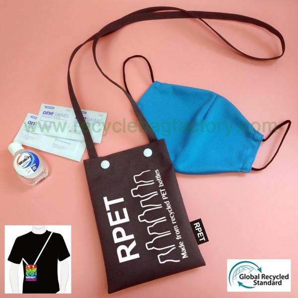 RPET-2-003  Recycled PET Sling Bag