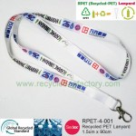 RPET-4-001  Recycled PET Lanyard (width : 1.5cm)