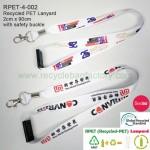 RPET-4-002  Recycled PET Lanyard (width : 2cm)