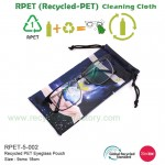 RPET-5-002     Recycled PET Eyeglass Pouch