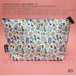 RPET-1-006-A    Recycled PET Zipper Bag (with pattern)