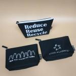 RPET-1-009   Recycled PET Zipper Bag